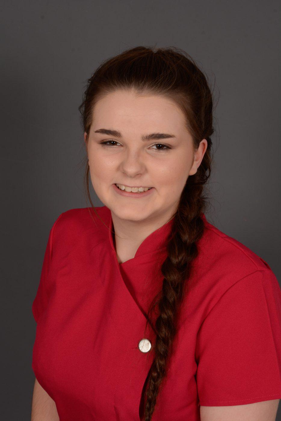 Caitlin Eynon-Cheshire, NVQ 2(T)
